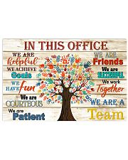 Physical Therapist this office tree 17x11 Poster front