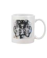 phoropter mask Mug tile