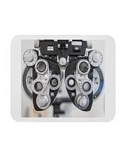phoropter mask Mousepad tile