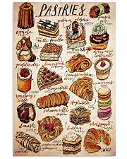 pastry cake  24x36 Poster front