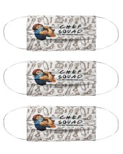 mas squad chef  Cloth Face Mask - 3 Pack front