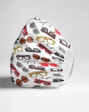 glasses pattern Cloth Face Mask - 3 Pack aos-face-mask-lifestyle-21