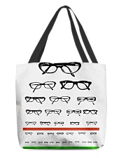Glass chart tote All-over Tote back