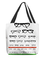Glass chart tote All-over Tote front