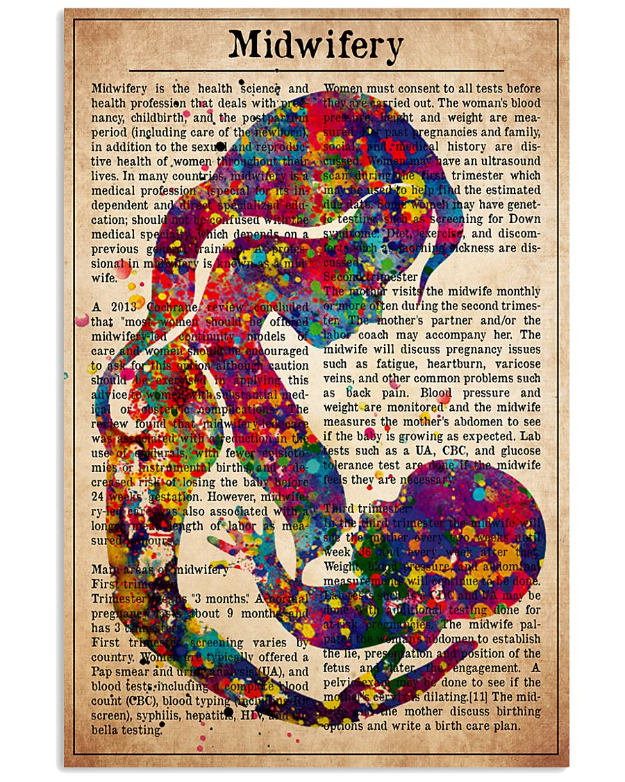 midwife-text-III 11x17 Poster