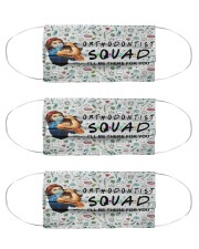 squad mask orthodontist Cloth Face Mask - 3 Pack front
