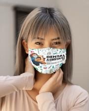 Vintage mas dental assistant Cloth Face Mask - 3 Pack aos-face-mask-lifestyle-18