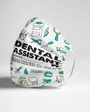Vintage mas dental assistant Cloth Face Mask - 3 Pack aos-face-mask-lifestyle-21