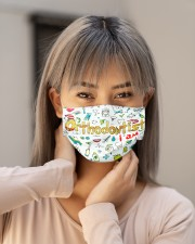 orthodontist i am mas Cloth Face Mask - 3 Pack aos-face-mask-lifestyle-18
