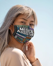 Medical assistant typo mas Cloth Face Mask - 3 Pack aos-face-mask-lifestyle-19