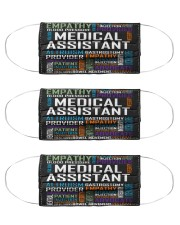 Medical assistant typo mas Cloth Face Mask - 3 Pack front