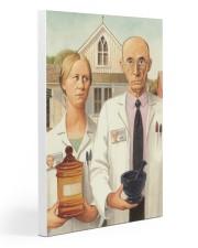 Ame goth pharmacist dvhd-NTH 20x30 Gallery Wrapped Canvas Prints thumbnail