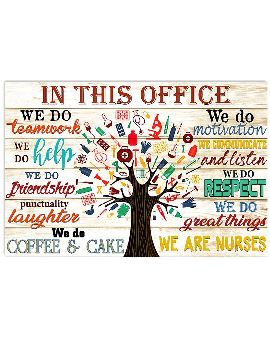 nurse reason poster 17x11 Poster