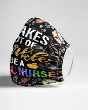 Sparkle school nurse Cloth Face Mask - 3 Pack aos-face-mask-lifestyle-21