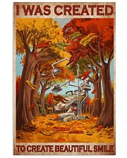 create-smile-fall 11x17 Poster front