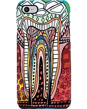 tooth abstract case Phone Case i-phone-7-case