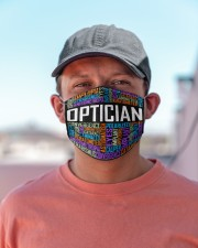 Optician typo Cloth Face Mask - 3 Pack aos-face-mask-lifestyle-06