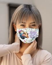 dentist crazy enough mas  Cloth Face Mask - 3 Pack aos-face-mask-lifestyle-18