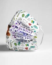 dentist crazy enough mas  Cloth Face Mask - 3 Pack aos-face-mask-lifestyle-21