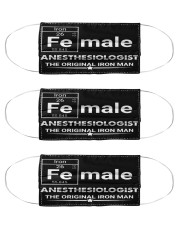 Anesthesiologist female mas Cloth Face Mask - 3 Pack front