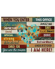 counselor enter 17x11 Poster front
