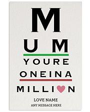 Optometrist mom million custom pt lqt ngt 16x24 Poster front