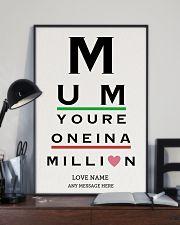 Optometrist mom million custom pt lqt ngt 16x24 Poster lifestyle-poster-2