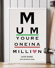 Optometrist mom million custom pt lqt ngt 16x24 Poster lifestyle-poster-4