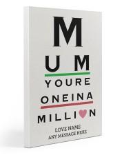 Optometrist mom million custom pt lqt ngt Gallery Wrapped Canvas Prints tile