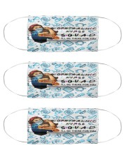 mas squad Ophthalmic Nurse  Cloth Face Mask - 3 Pack front