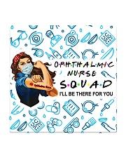 mas squad Ophthalmic Nurse  Square Coaster tile