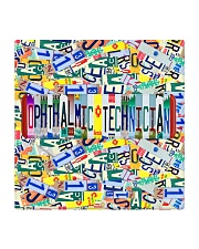 plate mask Ophthalmic Technician Square Coaster tile