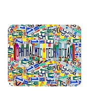 plate mask Ophthalmic Technician Mousepad tile