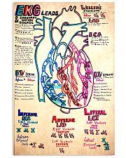 EKG lead doodle 11x17 Poster front