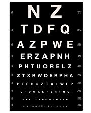 eye-chart nzt 24x36 Poster front