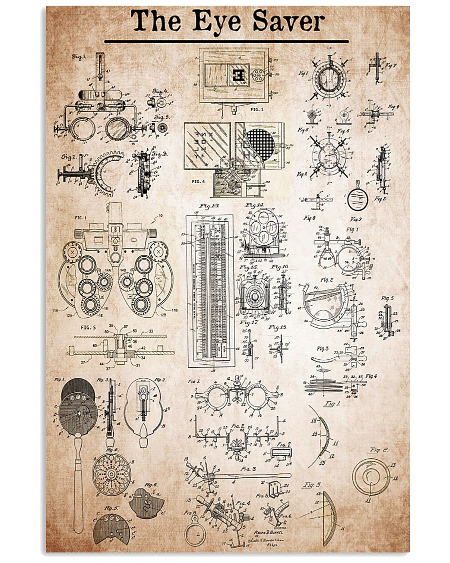 patent-eye-care 11x17 Poster