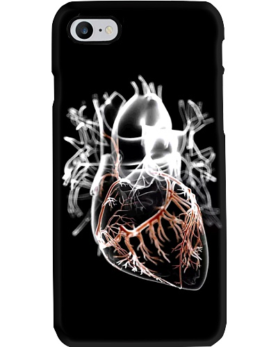 heart transparent case