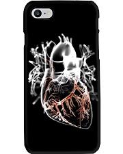 heart transparent case  Phone Case i-phone-8-case
