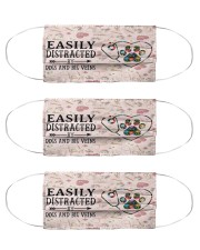 Easily Big Veins Cloth Face Mask - 3 Pack front
