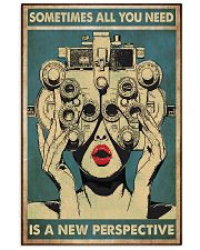 new perspective optometrist 24x36 Poster front