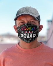 dental squad pattern  Cloth Face Mask - 3 Pack aos-face-mask-lifestyle-06