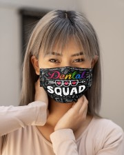dental squad pattern  Cloth Face Mask - 3 Pack aos-face-mask-lifestyle-18