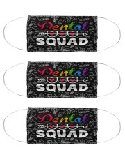 dental squad pattern  Cloth Face Mask - 3 Pack front