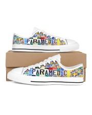 paramedic plate Women's Low Top White Shoes thumbnail
