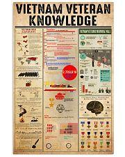 vietnam-veteran-knowledge 16x24 Poster front