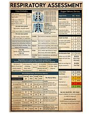 respiratory assessment 24x36 Poster front