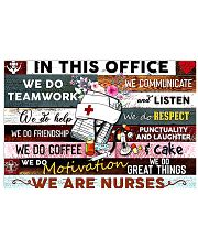 nurse office 1805 36x24 Poster front