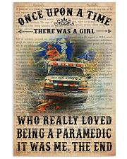once-upon-text-paramedic 11x17 Poster front