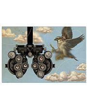 bird phoropter 17x11 Poster front