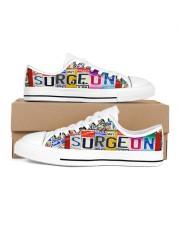 shoe plate surgeon Women's Low Top White Shoes tile